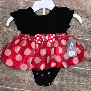 Minnie Mouse bodysuit outfit or costume